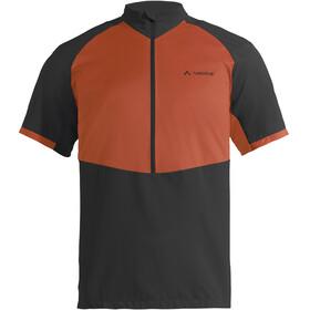 VAUDE eMoab - Maillot manches courtes Homme - orange/noir